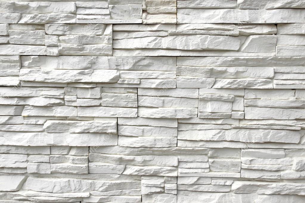 Pared de Piedra Artificial blanca — Foto de stock © aruba2000 #56832917
