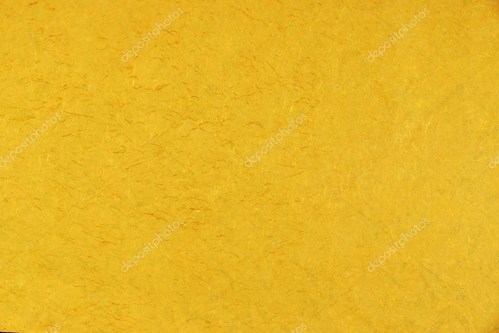 Jaune Orange or ambre Citrine couleur papier fait main Mulberry B ...