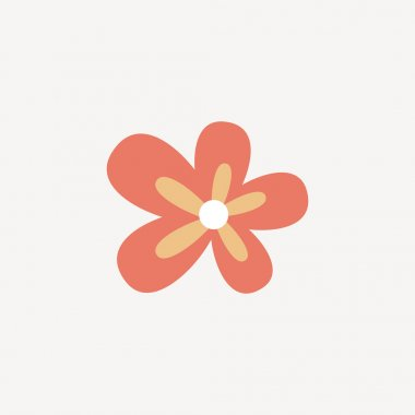 Abstract cute flower