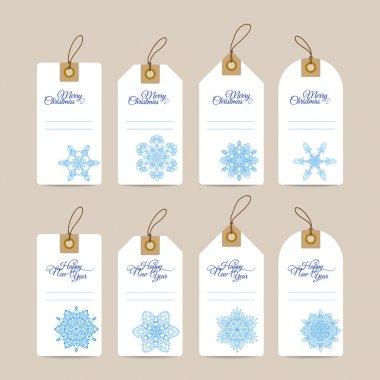 decorative Christmas gift tags