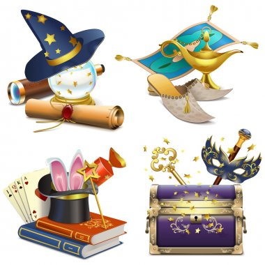 Vector Magic Concept Icons