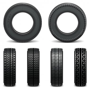 Vector Tyre Icons