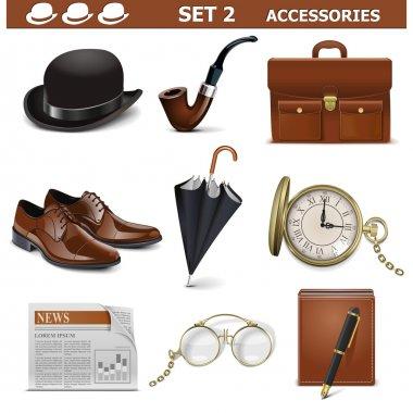 Vector Male Accessories Set 2