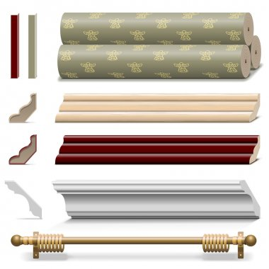 Vector Finishing Wall Materials