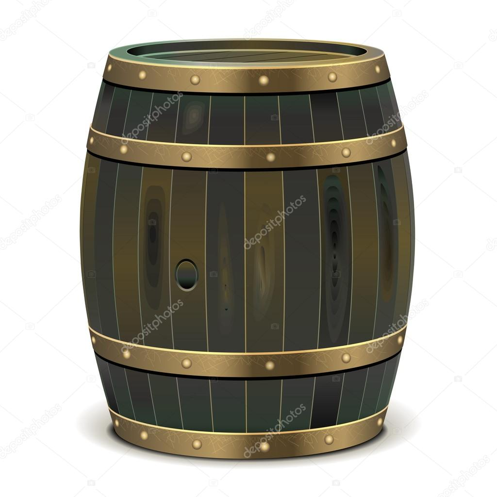 Vector Old Barrel