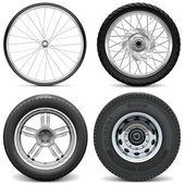 Vektor-Reifen für Fahrrad-Motorrad-Auto und LKW