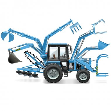 Vector Multi Tractor