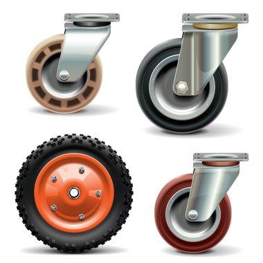 Vector Trolley Wheel