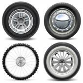 Vektor-Räder