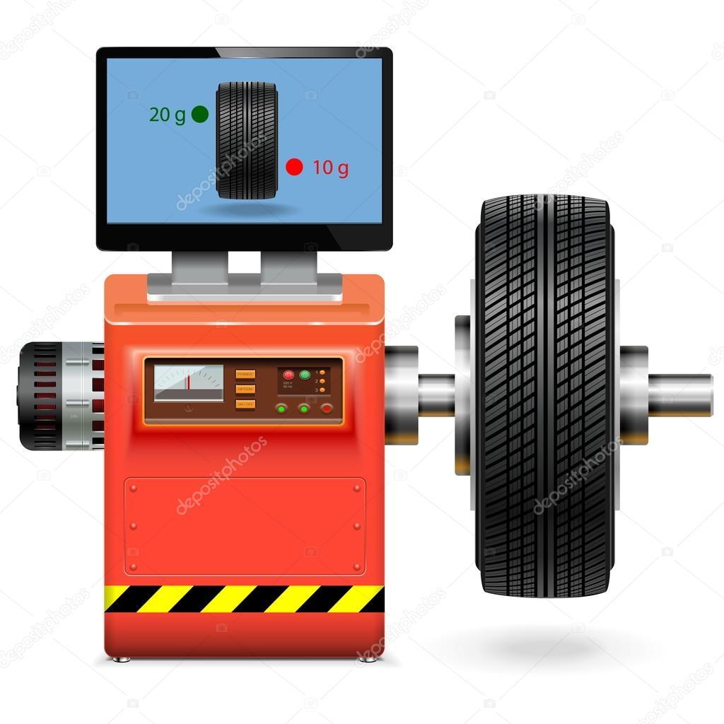 Vector Balancing Wheel Service