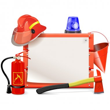 Vector Firefighter Board