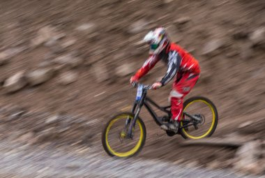 Championship downhill bike