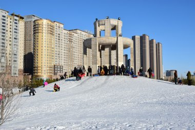 View in Astana, capital of Kazakhstan, host of the EXPO 2017
