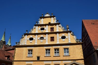 Historical building in Bamberg, Germany