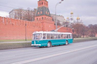 Retro Trolleybus.