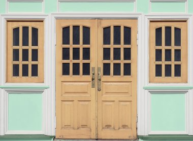 Doors and windows.