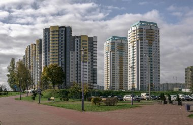 Minsk in October is not crowded, beautiful, calm and clean.