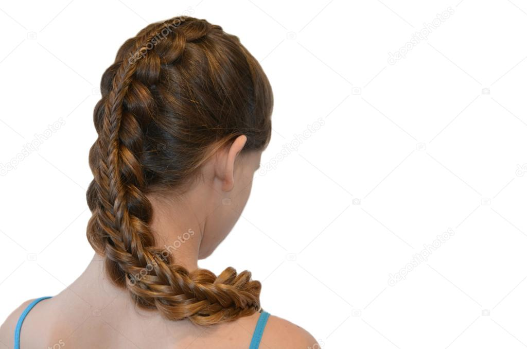 Hairstyle With Long Hair Stock Photo Yuliyam 95602758