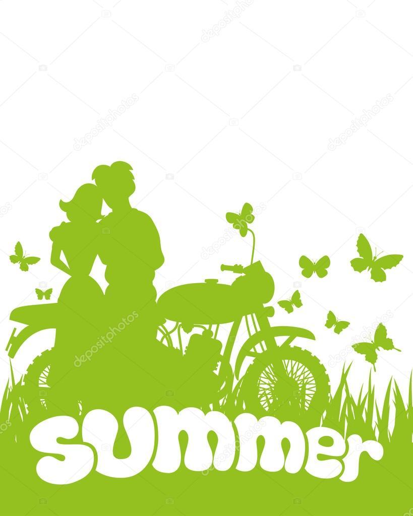 Vector illustration. Summer.