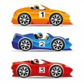 Photo Racing cars.