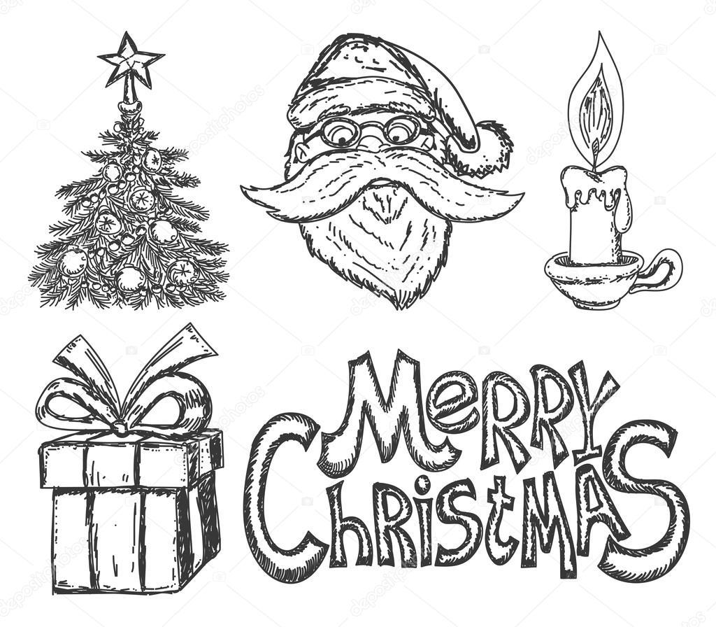weihnachten zeichen — Stockvektor © taronin #82483702