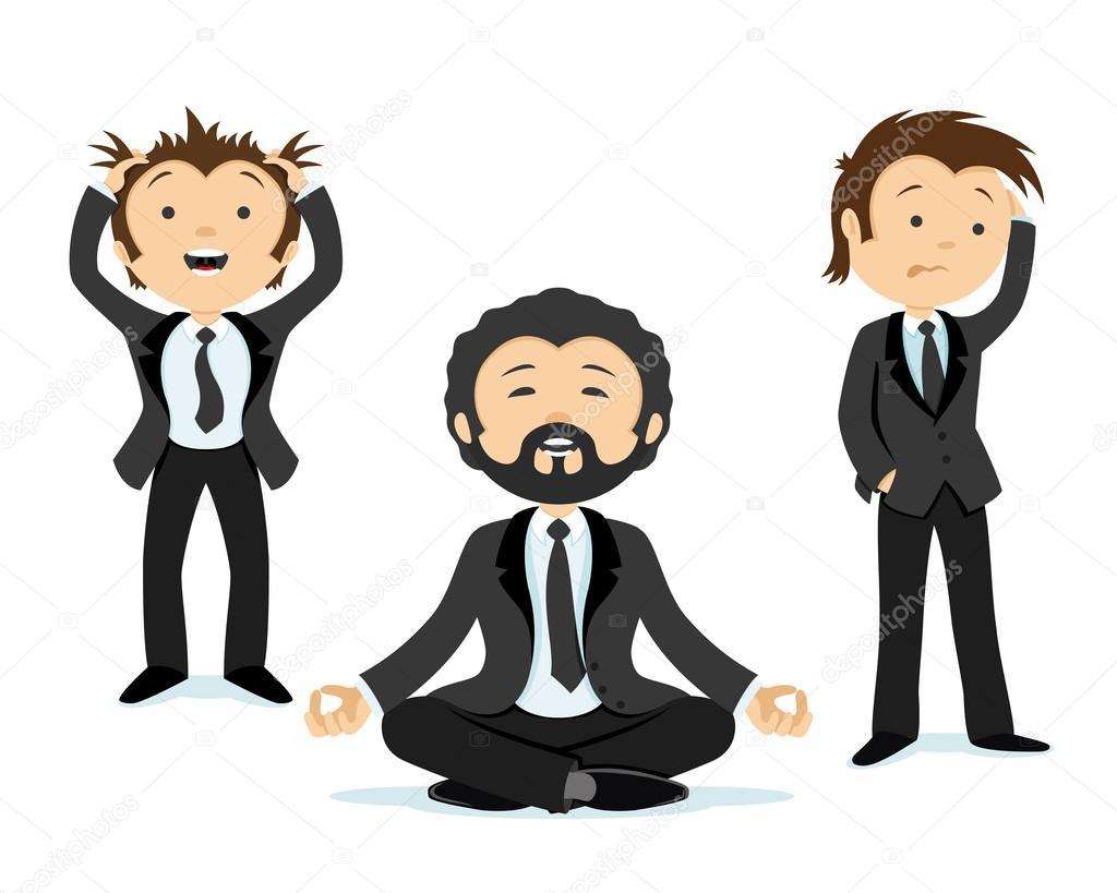 Empresario Mantener La Calma