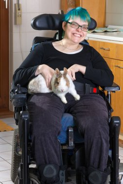 Infantile cerebral palsy patient