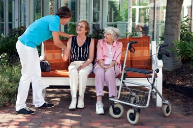 Professional Taking Care Patients