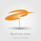 Eredetileg létrehozott színes elvont üzleti ikon kreatív tervezési feladatok
