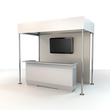 Stand design in exhibition