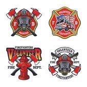 A tűzoltó emblémák beállítása