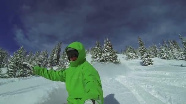 Extreme Snowboard Sicht, Wintersport hd