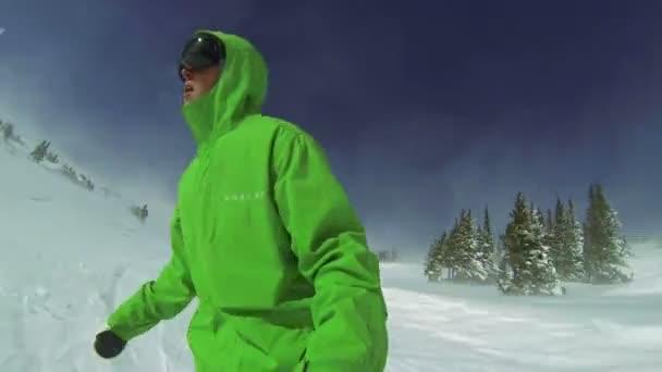 extrémní snowboarding hlediska, zimní sport hd