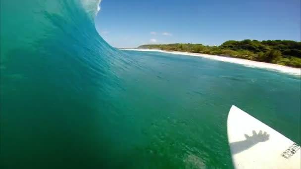 POV ember szörfözés, extrém Sport
