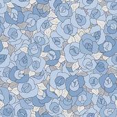 Fotografie Květinový vzor bezešvé v retro stylu, kreslené květiny poz