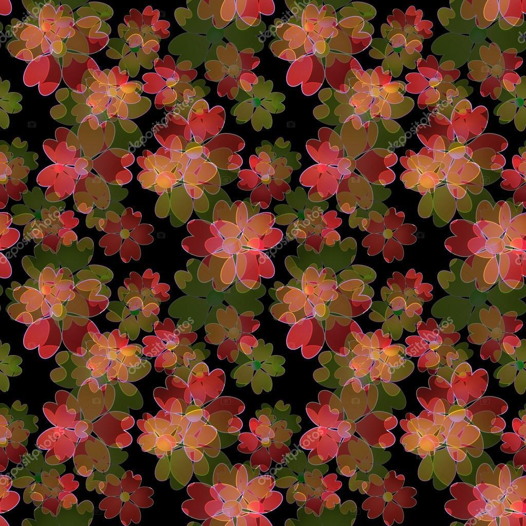 Fondo Floral Transparente, Adorno De Flores Fondos De