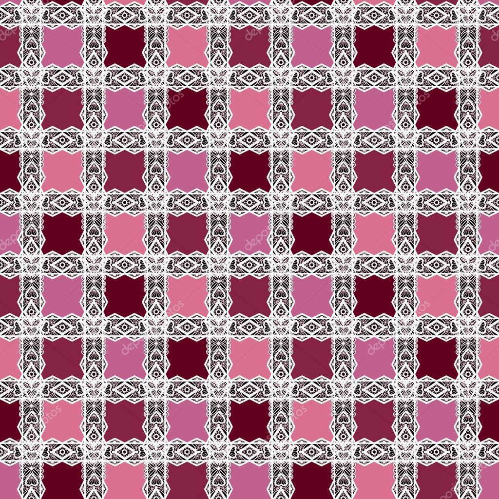 Abstrakt nahtlose Spitze Blumenmuster Textur Hintergrund — Stockfoto ...