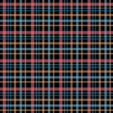 Seamless retro textile tartan checkered texture plaid pattern ba