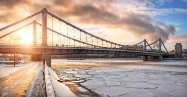 bridge-hammock in Moscow