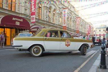 Soviet car maintenance Olympics-80 in Moscow