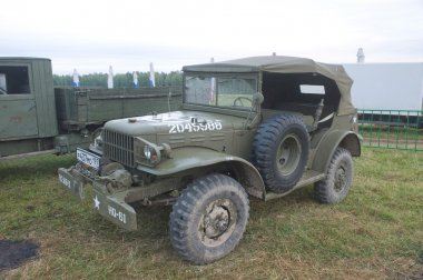 Commander's car Dodge WC-57 Command Car at the 3rd international meeting of