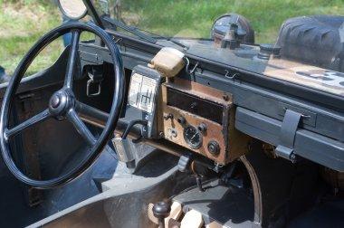 Cabin German floating retro Volkswagen Swimmwagen Typ 166, 3rd international meeting