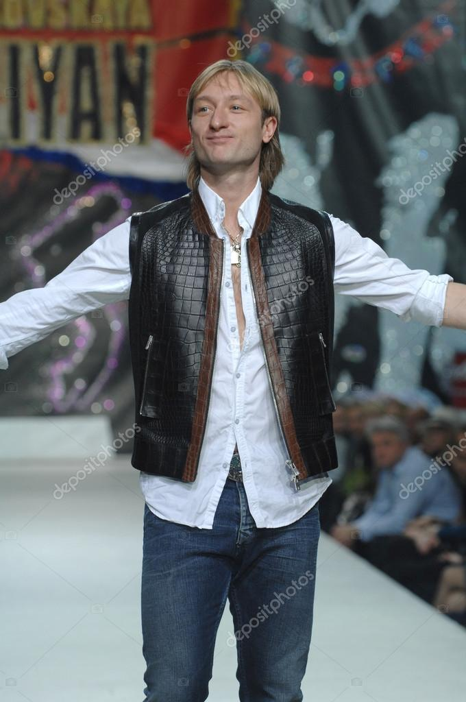 Figure Skater Evgeni Plushenko Is On The Catwalk At The Fashion Show Of Fashion Designer Ilya Shiyan Stock Editorial Photo C Photo Am 91743768