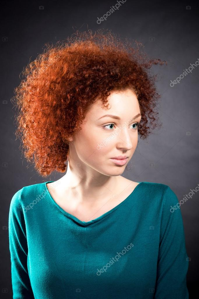 Beauty Portrait Curly Hair Stock Photo C Elf 11 108870288