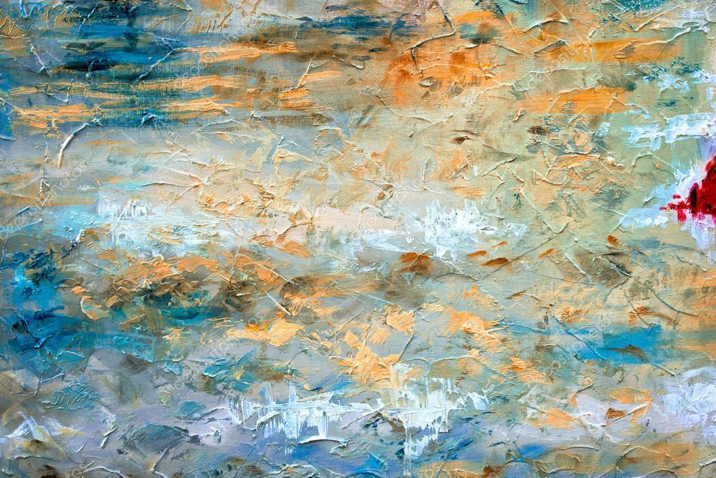 Moderne Kunst Bilder Auf Leinwand ~ Abstrakte kunst hintergrund Ölgemälde auf leinwand farbtextur