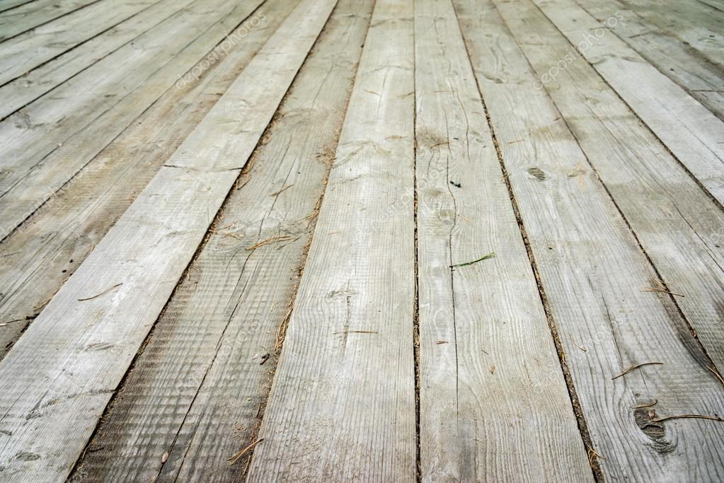 Light wood background perspective view wooden floor with thick