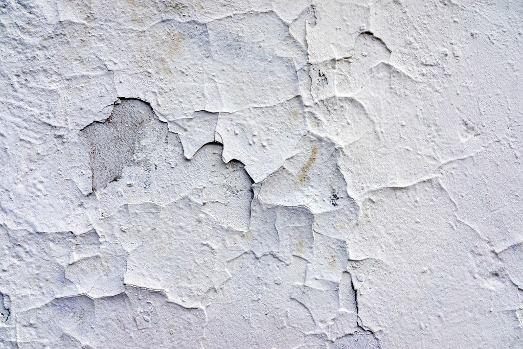 Old concrete white wall abstract background