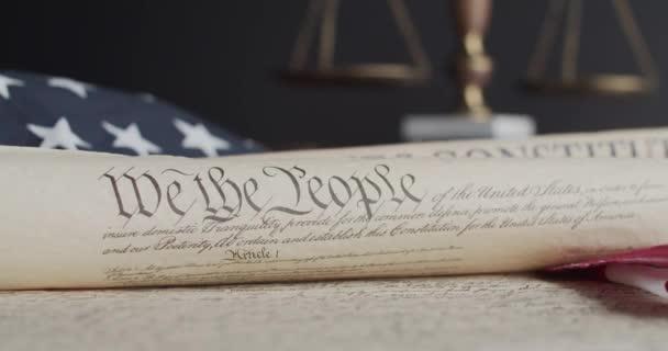 Verfassung und Flagge der Vereinigten Staaten von Amerika