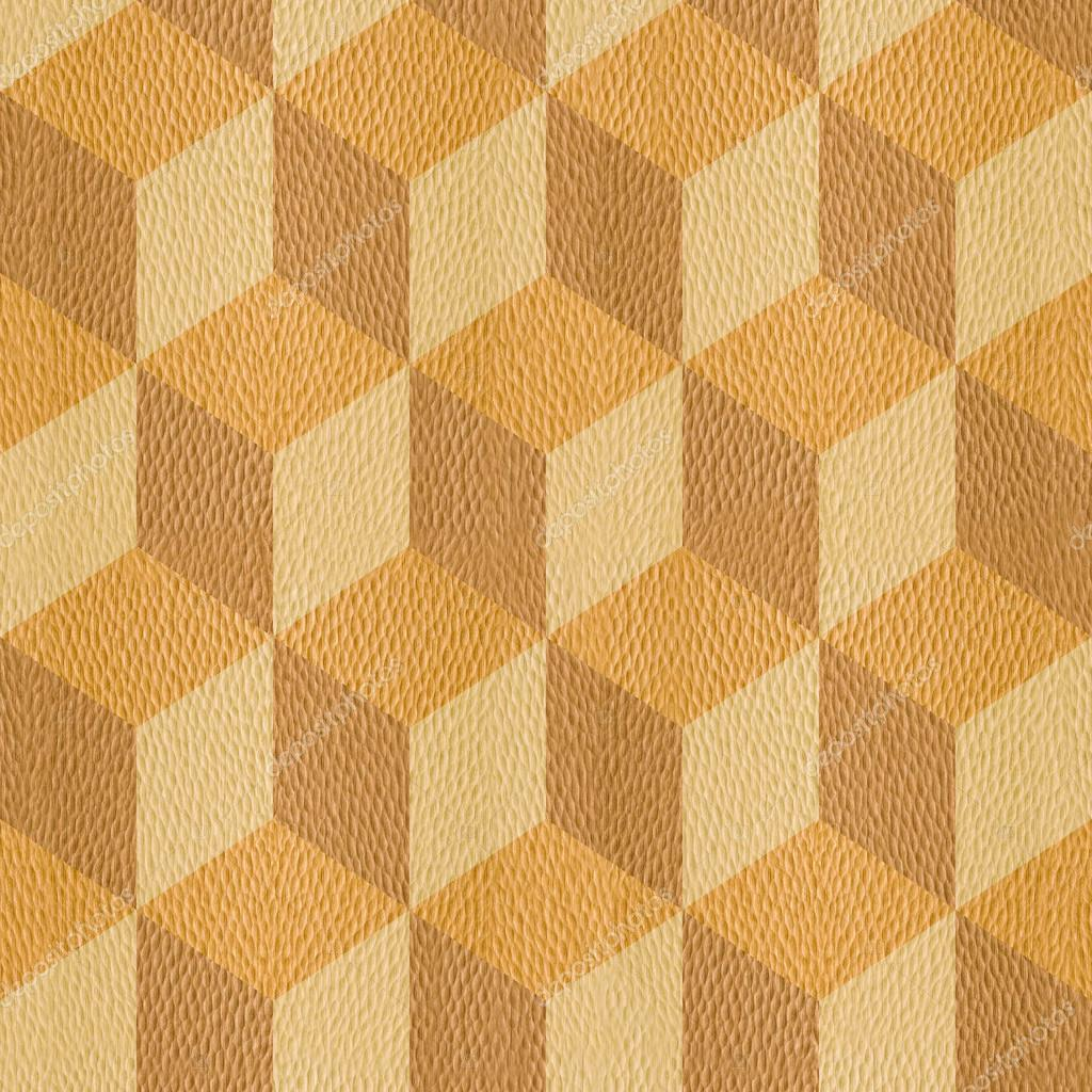 Interior wall panel pattern, Decorative cube, seamless background ...