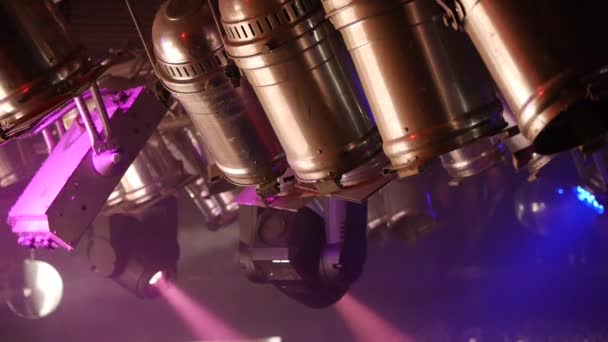 Színpad világítás - filmklub spotlámpa - fény show - zene